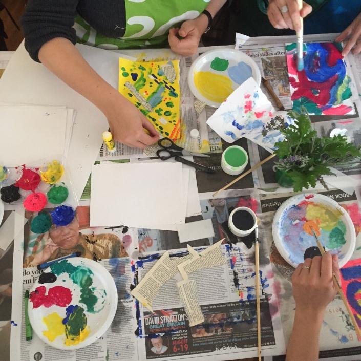 how to run an art workshop