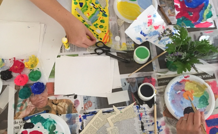 how to run an art workshop