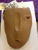 Mask making is a way to explore identity and how we present ourselves in different situations