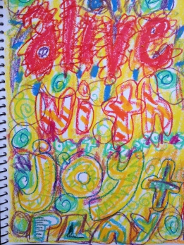 Using journals for writing and artworks