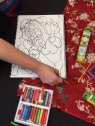 Scribble drawings help to develop a visual language without self criticism