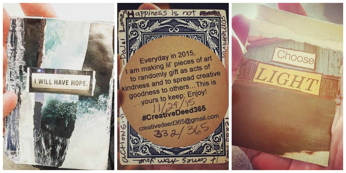 Daily creativity – Gretchen talks about Creative Deed365